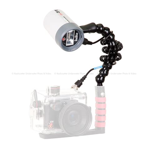 sync lights to kits ikelite ds51 strobe sync cord flex arm kit backscatter