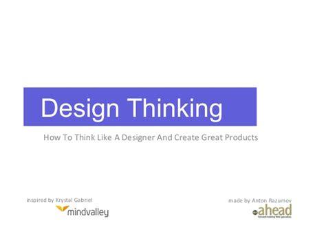 design thinking approach design thinking approach