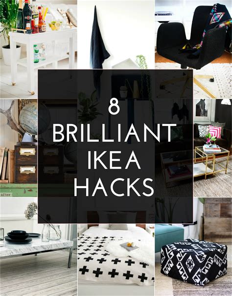 ikea life 8 brilliant ikea hacks the crafted life