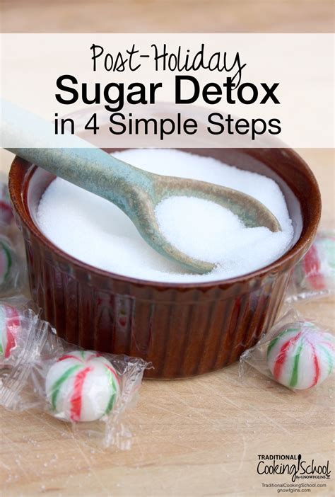 Detox Your In 4 Easy Steps by Post Sugar Detox In 4 Simple Steps