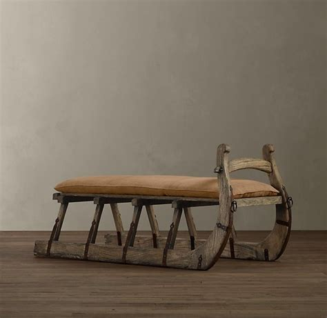 sleigh bench seat sleigh bench stools chairs and benches pinterest