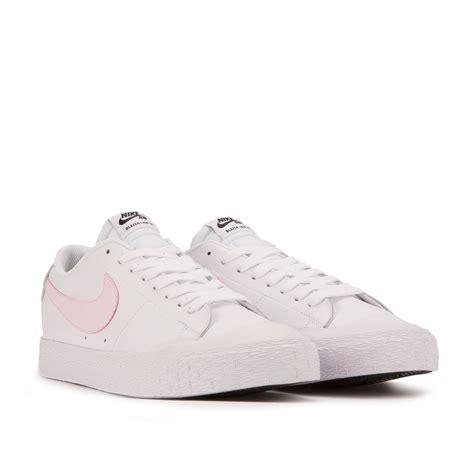 white and pink nike sb blazer zoom low xt white pink 864348 160