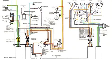 wiring diagrams for 65 hp mercury outboard mercury wiring