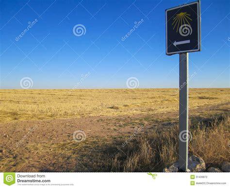 read a pilgrim s guide to the camino portugu 233 s lisboa pilgrim sign at the camino de santiago stock photography