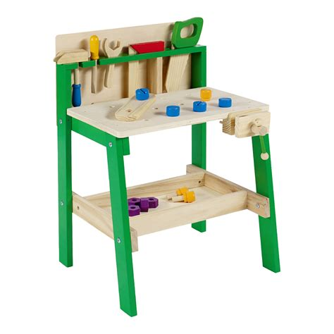 toddler tool bench kids tool work bench wooden diy table work creative role
