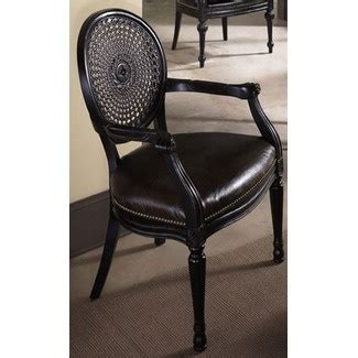 Hidden treasures accent chair with black and light brown zebra fabric