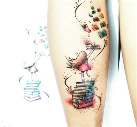 awe inspiring book tattoos for literature lovers kickass