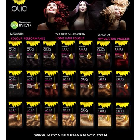 olia colors olia colors buy garnier olia oli powered hair colour at
