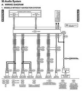 stereo wiring diagram 2003 subaru outback stereo subaru