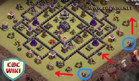 brr placements gowiwi attack strategy for town hall th 8 9 10