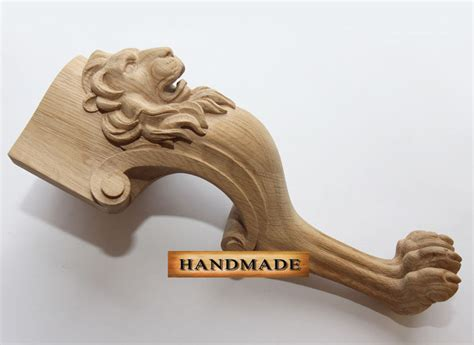 carved wood chair legs high quality carved furniture leg for coffe table