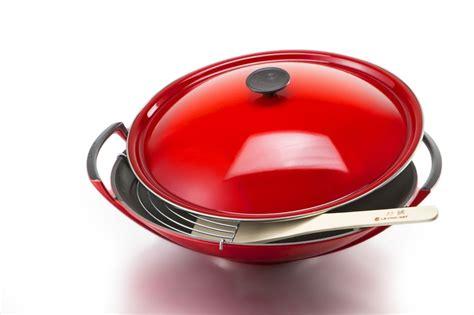 le crueset wok le creuset wok rva gourmet style widely quot quot