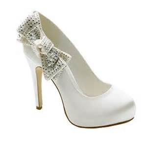 places to shop for your white wedding shoes in uk a few