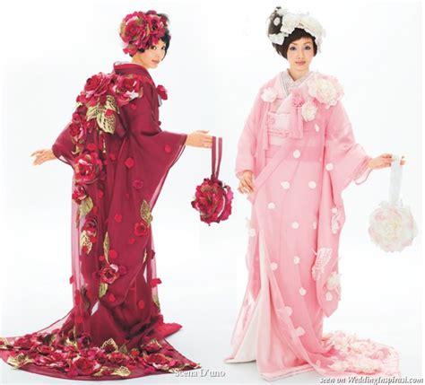 L 876 Beautifull Flower Kimono 1 scena d uno japanese wedding kimono wedding inspirasi
