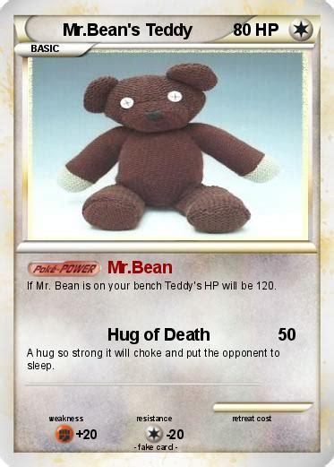 pokemon  bean  teddy   mrbean  pokemon card
