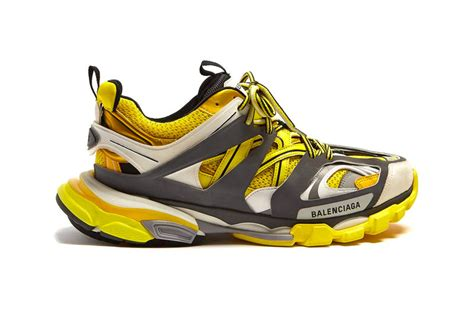 balenciaga track trainers quot yellow white grey quot hypebeast drops