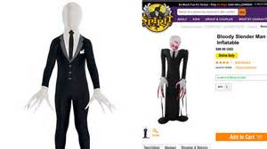 party city halloween costumes houston wisconsin community outraged over sale of slender man