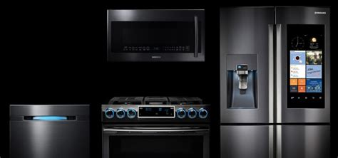 samsung unveils three new built in kitchen appliance every appliance that works with your iphone android