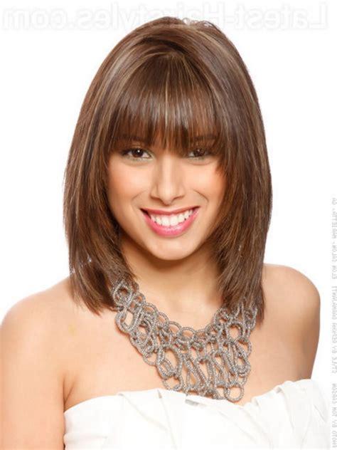 Medium Hairstyles Bangs by Medium Hairstyle With Bangs Medium Haircut