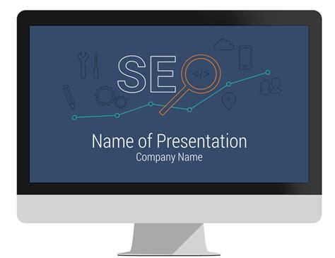 seo template seo powerpoint template presentationdeck