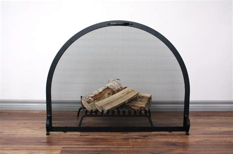 Arched Fireplace Screens by Heritage Arch Screen Anvil Fireside