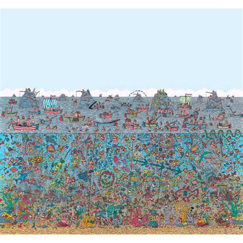 Find Walter where s wally sea wall mural iwoot