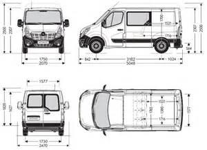 Vauxhall Vivaro Dimensions Opel Movano Fourgon Cabine Pdf