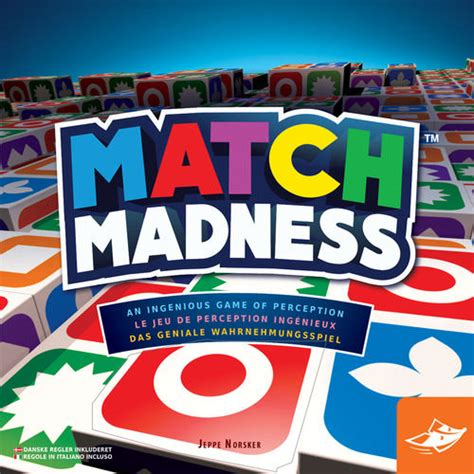 pattern matching board game match madness is pattern matching fun the board game