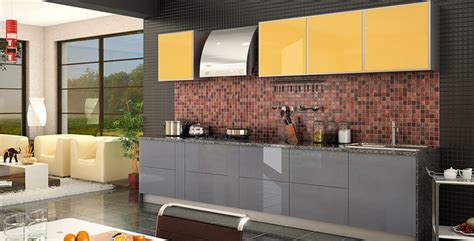 Kitchen Design L Shape by Johnson Kitchens Indian Kitchens Modular Kitchens