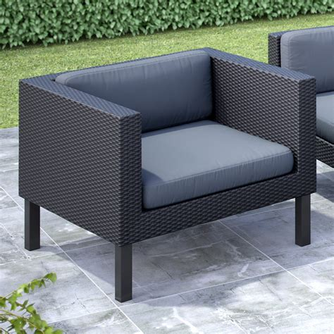 Hayneedle Outdoor Furniture by Corliving Oakland Lounge Chair Outdoor Lounge Chairs At