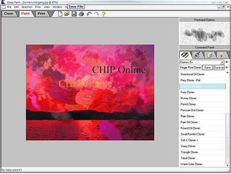 painting software paint freeware en chip eu