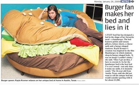 cheeseburger bed claes oldenburg quot floor burger quot bed art parody pinterest