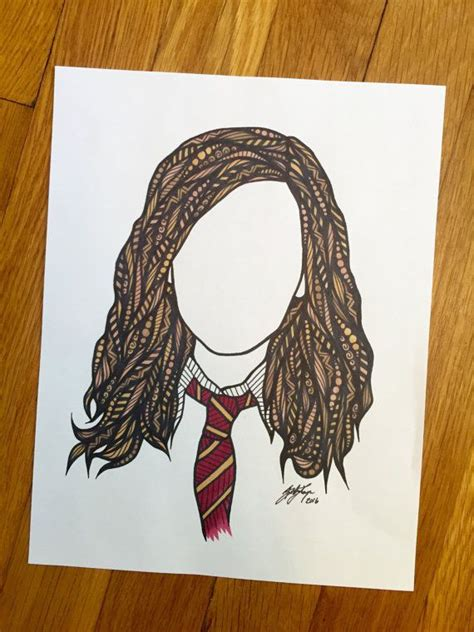 Harry Potter Miss Granger by Miss Granger Illusion Dessin Hermione