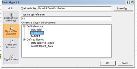 panduan membuat database dengan excel 2007 panduan belajar hypelink di excel dengan mudah update