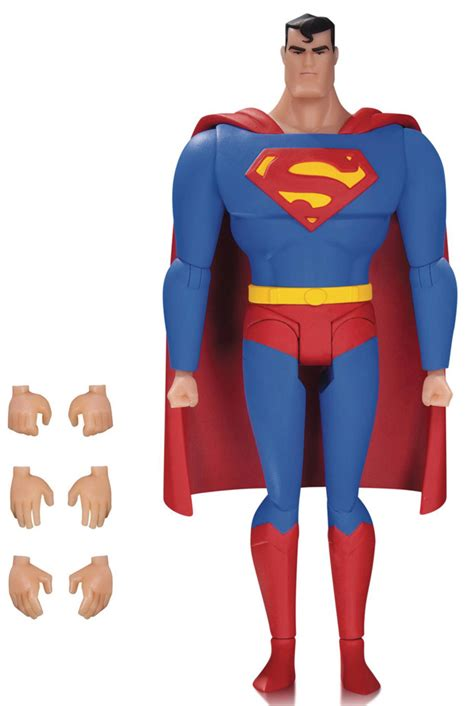 Dc Comics Collectibles Superman Lois 2 Pack Animated Series superman animated series figure 01 superman and