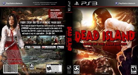 Bd Ps 3 Dead Island dead island of the year edition playstation 3 box cover by parabolee