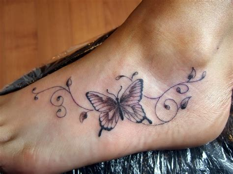 butterfly tattoo designs on foot butterfly design on foot