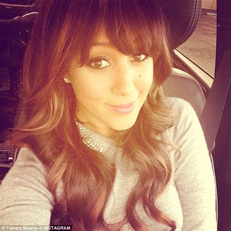 tamera mowry hairstyles tamera mowry housely debuts new hairstyle daily