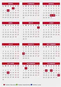 Q Es Un Calendario Calendario Laboral De 2016 Fiestas Y Puentes 191 Cu 225 Ndo