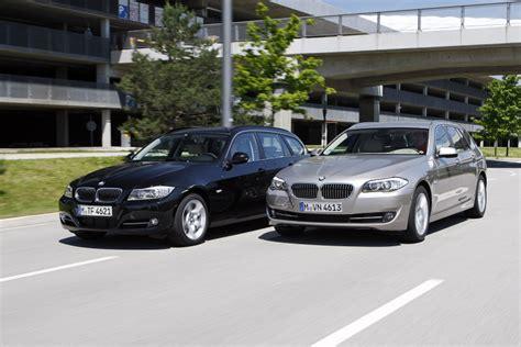 Bmw 3er Vs 5er Touring by Vergleich Bmw 5er Und 3er Touring Bilder Autobild De