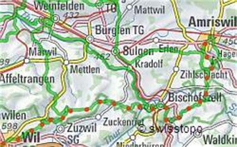 Feuerstellen Karte by Thurgauer Rundwanderweg Wanderung Rund Um Den Kanton Thurgau