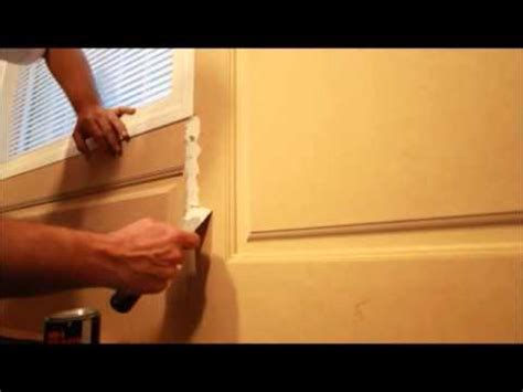 How To Install Raised Panel Wainscoting by How To Install Raised Panel Wainscoting