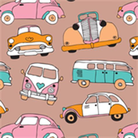 quirky pattern fabric car fabric wallpaper gift wrap spoonflower