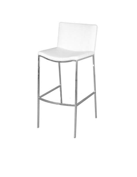 White Leather Bar Stool Bar Stool Rentals Event Furniture Rentals Wedding Rentals