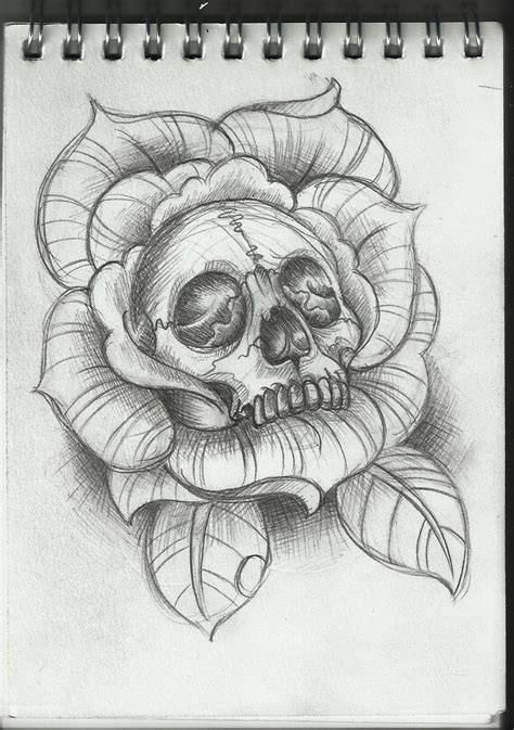 tattoo drawing design 1 0 apk download skull rose sketch tattoos pinterest sketches tattoo