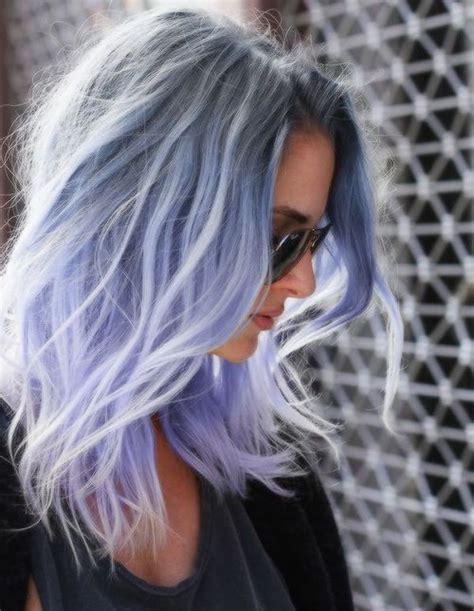 2016 beautiful bob wig pastel purple ombre wig smoky gray to purple two tone color