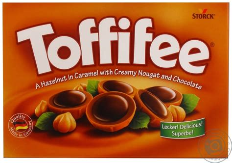 Coffee Toffee toffifee chocolate with filling 400g box germany