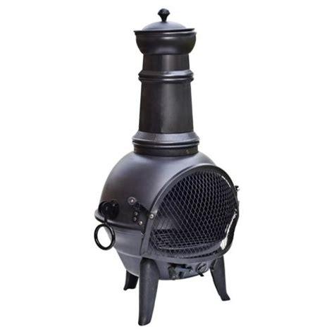 Tesco Chimenea Cast Iron Buy La Hacienda Steel Cast Iron Chimenea From Our