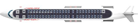 Cabin Plan by Plan Bombardier Crj 1000 100 Si 232 Ges