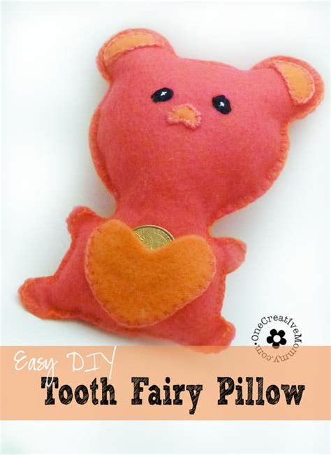 Lost Tooth Pillow by Easy Diy Tooth Pillow Onecreativemommy